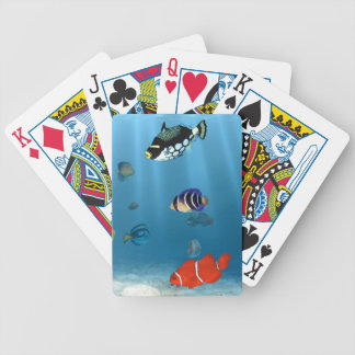 Oceans Of Fish Bicycle Playing Cards