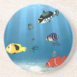 Oceans Of Fish Drink Coasters