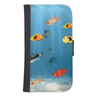 Oceans Of Fish Galaxy S4 Wallets