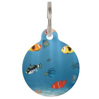 Oceans Of Fish Pet ID Tag