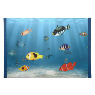 Oceans Of Fish Placemat