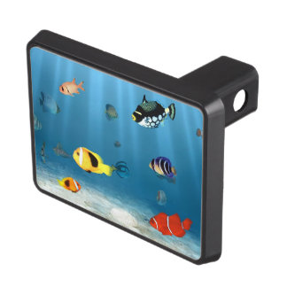 Oceans Of Fish Tow Hitch Cover