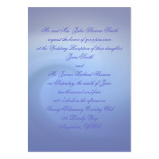 Oceans of Love Wedding Large Business Cards (Pack Of 100)