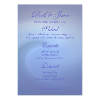 Oceans of Love Wedding Large Business Card