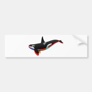 Oceans Pass Bumper Sticker