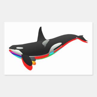 Oceans Pass Rectangular Sticker