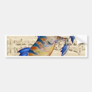 Oceans Song Bumper Sticker