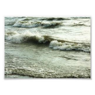 Oceans Surf Photographic Print