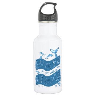 Ocean's Symphony 18oz Water Bottle