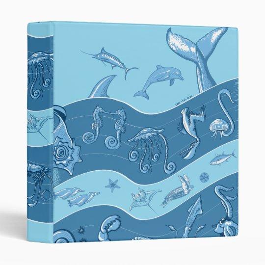 Ocean's Symphony Binder