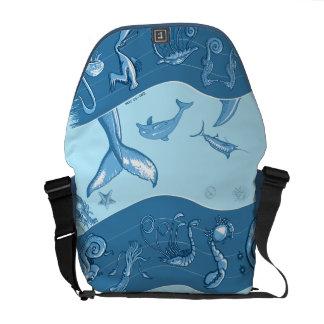 Ocean's Symphony Messenger Bags
