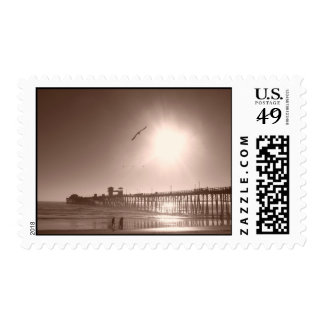 Oceanside, CA Pier Postage