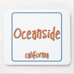 Oceanside California BlueBox Mouse Pads