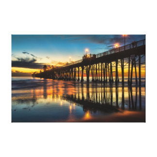Oceanside, California Gallery Wrapped Canvas