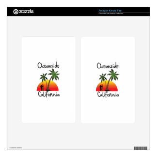 Oceanside California Decals For Kindle Fire