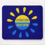 Oceanside California Mousepads