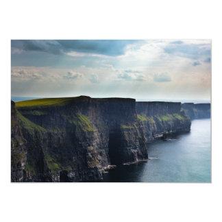 Oceanside Cliffs Card