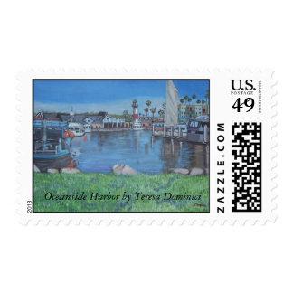 Oceanside Harbor Stamp