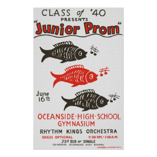 Oceanside High Junior Prom Poster