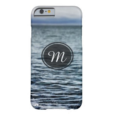 "Beach Themed ""Oceanside"" Monogram Iphone Case"