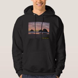 Oceanside, Oregon Hoodie Black