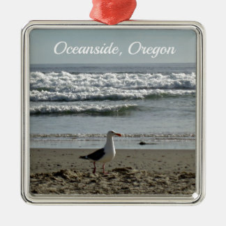 Oceanside, Oregon Christmas Ornament