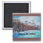 Oceanside Pier Painting Magnet
