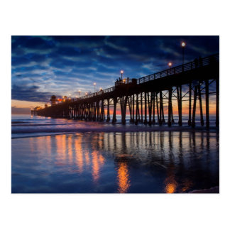 Oceanside Pier Postcard