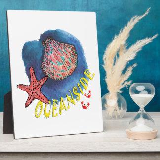 Oceanside Plaque