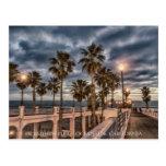 pier, boardwalk, dusk, night, ocean, view,