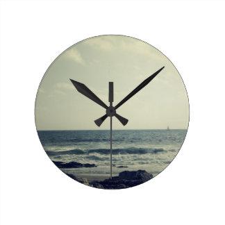 Oceanside Round Clock