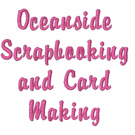 Oceanside Scrapbooking and Card Making T-Shirt