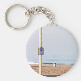 Oceanside Speed Limit Basic Round Button Keychain