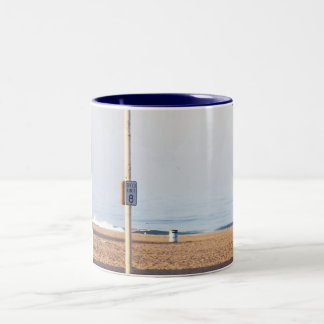 Oceanside Speed Limit Two-Tone Coffee Mug