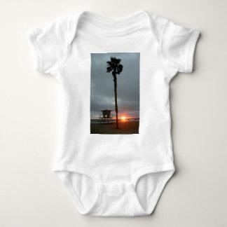 Oceanside Sunset Baby Bodysuit
