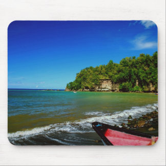 Oceanside view in Saint  Lucia Mouse Pad