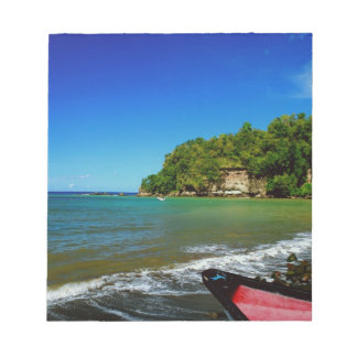 Oceanside view in Saint  Lucia Scratch Pad