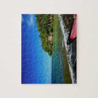 Oceanside view in Saint  Lucia Puzzles