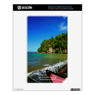 Oceanside view in Saint  Lucia NOOK Color Skin