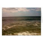 oceanview de la playa de Jones Tarjeta Pequeña