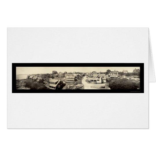 Oceanview Marblehead Photo 1908 Card