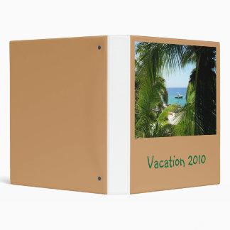 Oceanview , Vacation 2010 Binder