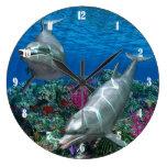 Oceanworld 2 Wall Clock