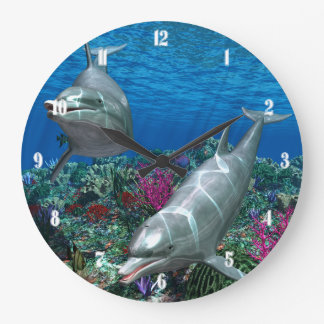 Oceanworld 2 Wall Clock