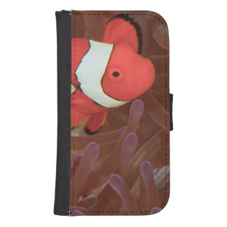 Ocellated Anemonefish Amphiprion ocellaris) Phone Wallet