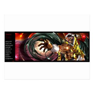 Ocelolteol ingles postcard