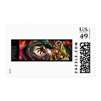 Ocelolteol ingles stamp