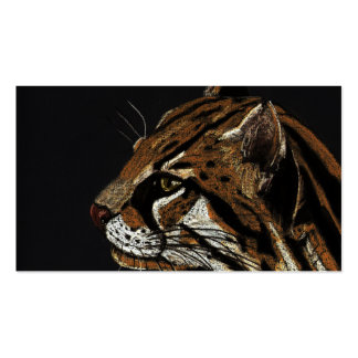 ocelot Double-Sided standard business cards (Pack of 100)