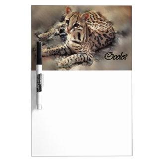 Ocelot Lovers Art Dry-Erase Whiteboards