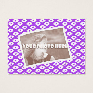 Ocelot Photo Frames - Purple Business Card